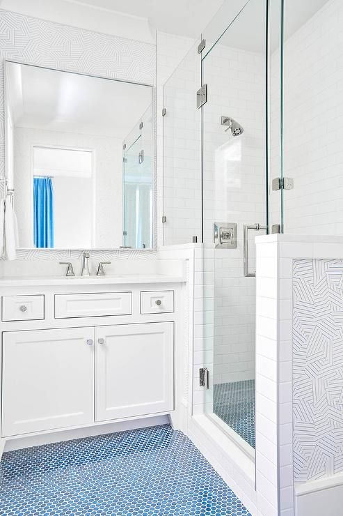 Bathroom Faucets Red And Blue Strips Ion Handles: Best 25+ Penny Tile Floors Ideas On Pinterest