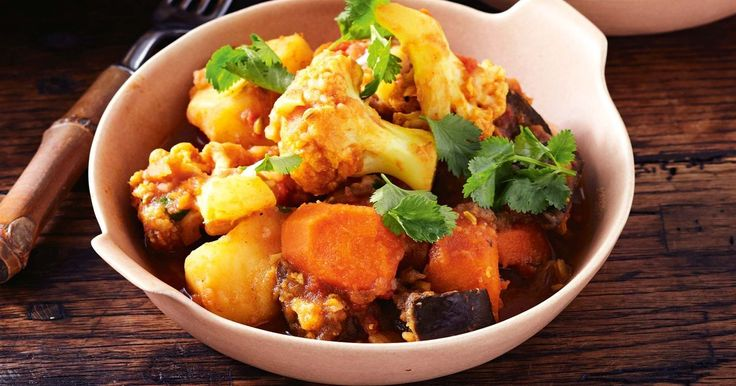 This hearty vegetarian curry is a great winter warmer.