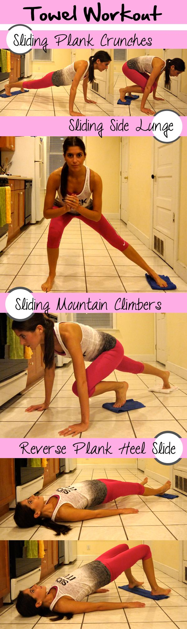 Things to do at home without a gym membership or equipment!