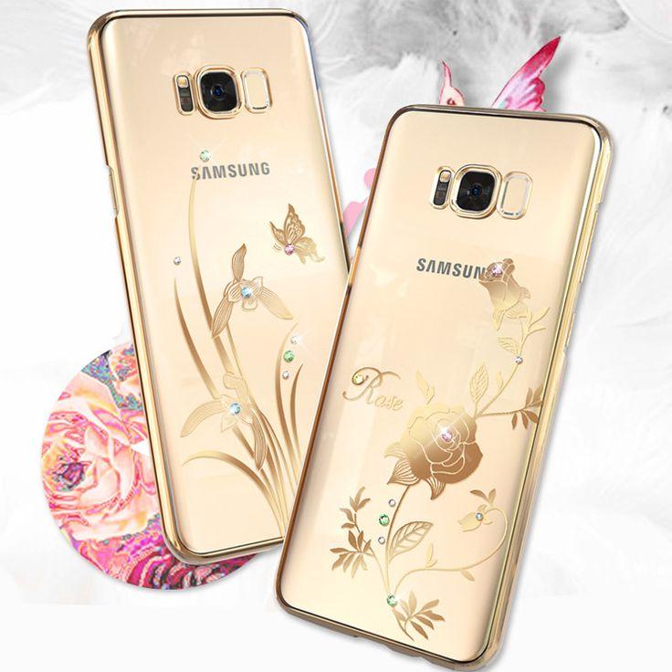 Samsung Galaxy S8 デコケース かわいい ラインストーン エレガントクリア おすすめ おしゃれ スマホケースS8-KI-J41-T70329【送料無料】 - IT問屋直営店