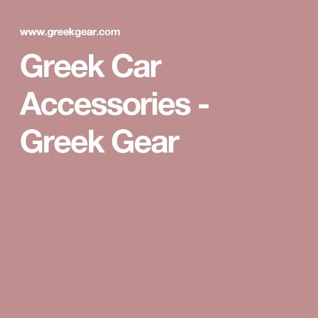 Greek Car Accessories - Greek Gear