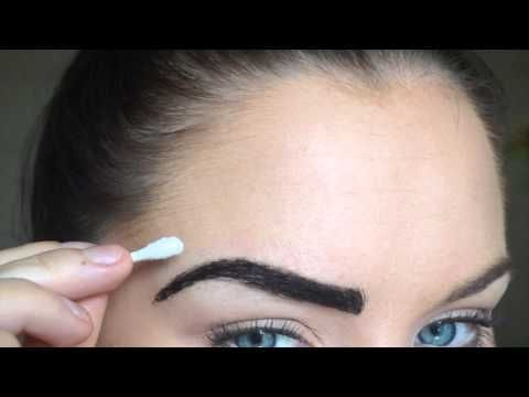 How to Eyebrow Tinting, Trimming, Grooming | HENNA - YouTube