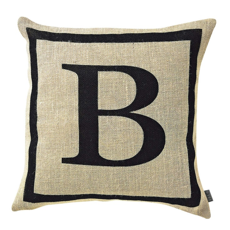 Alpha Jute Cushion Cover from Domayne