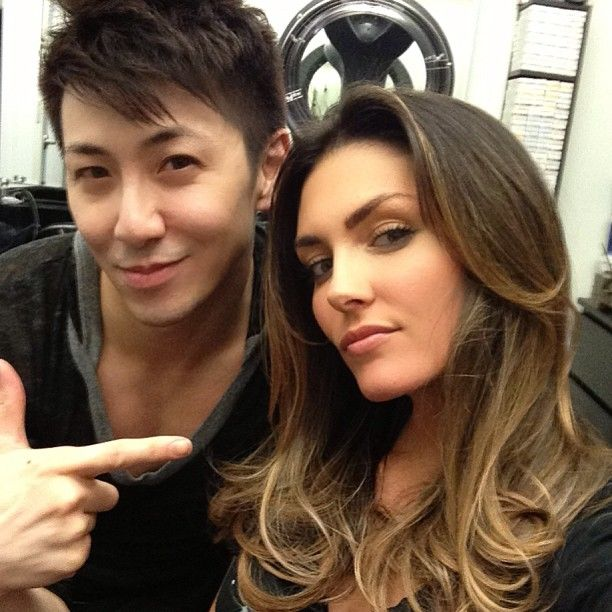 Actress Taylor Cole Ombre by Guy Tang