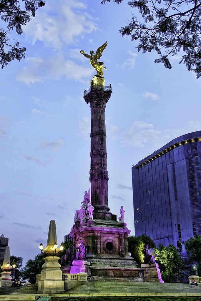 Angel de la Independencia. Mexico City. By Flickr user: Francisco Diez