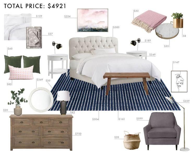 Budget Room Design: Modern Traditional Bedroom
