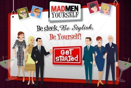 Mad Men Your Self : creare avatar stile Mad Man.