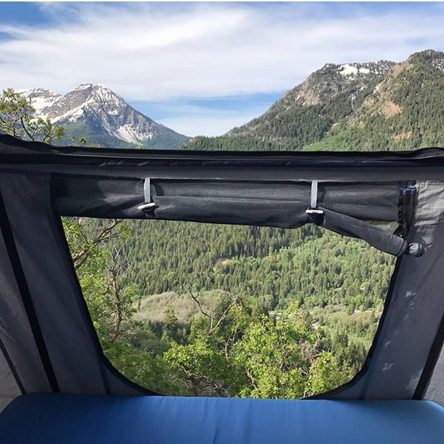 Double your viewing pleasure with a Sky model roof top tent. Photo by Tepui tents : tapui tents - memphite.com