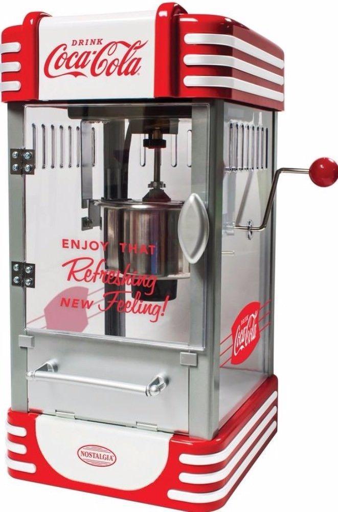 2.5 oz. Stainless Steel Kettle Popcorn Popper Maker Specialty Appliance New #popcornmaker