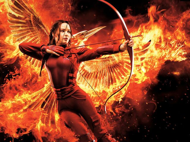 I got: Katniss Everdeen! What Famous Book Character Would You Be?