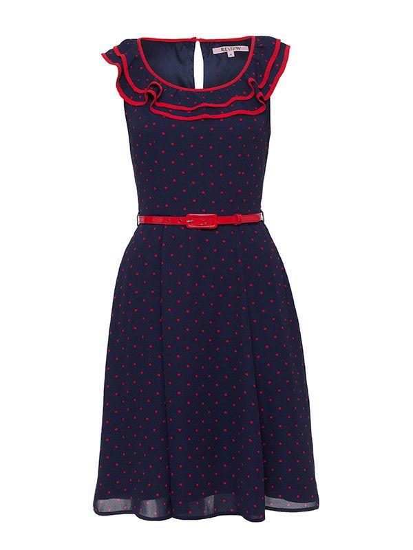 Mariela Spot Dress Dresses by Review