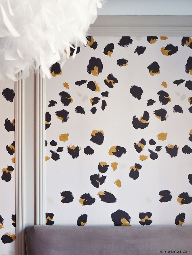 Wallpaper kitten blush drop it modern modern and contemporary interior designed