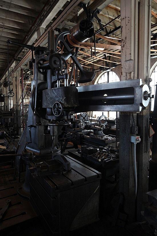 West Orange Laboratories Heavy Machine Shop
