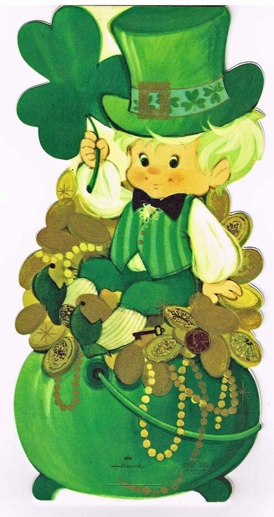 Vintage St. Patrick'S Day Card