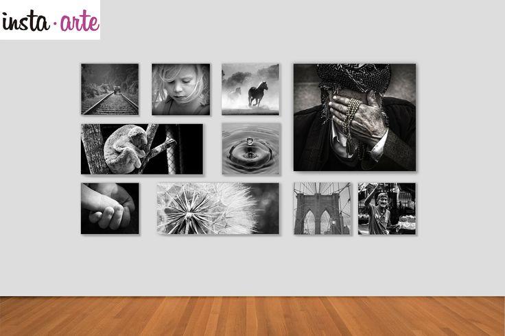 ¡Imprime tus mejores fotos sobre materiales rígidos en collage con nosotros! Quedan padrísimos sobre tu pared!! <3 --> www.insta-arte.com.mx