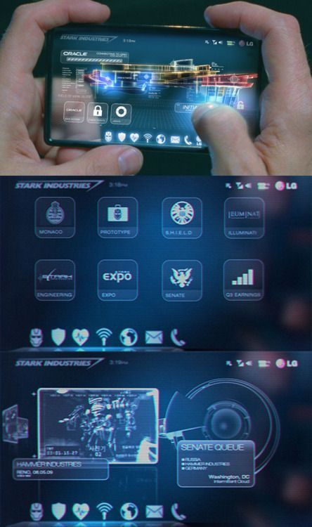Iron Man 2 - User Interface design - John Koltai