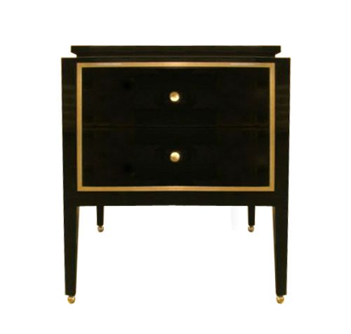 1000 ideas about black nightstand on pinterest for Edward ferrell lewis mittman