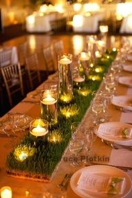long tables for event - golf event?