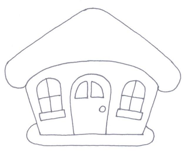 La trapera de Amelia patchwork: Patrones de casitas