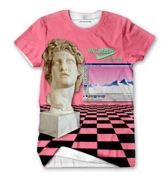 Vaporwave shirt – Shirtwascash