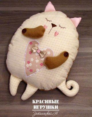 игрушка подушка кот 1