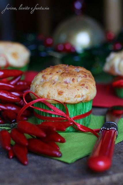 Muffin salati al peperoncino