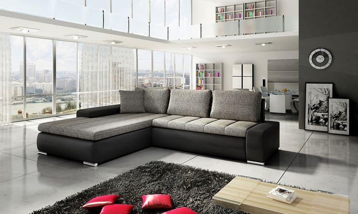 Угловой диван-кровать TIVANO 03 - Угловые диваны и угловые диваны-кровати - Мягкая мебель - Smart24.ee