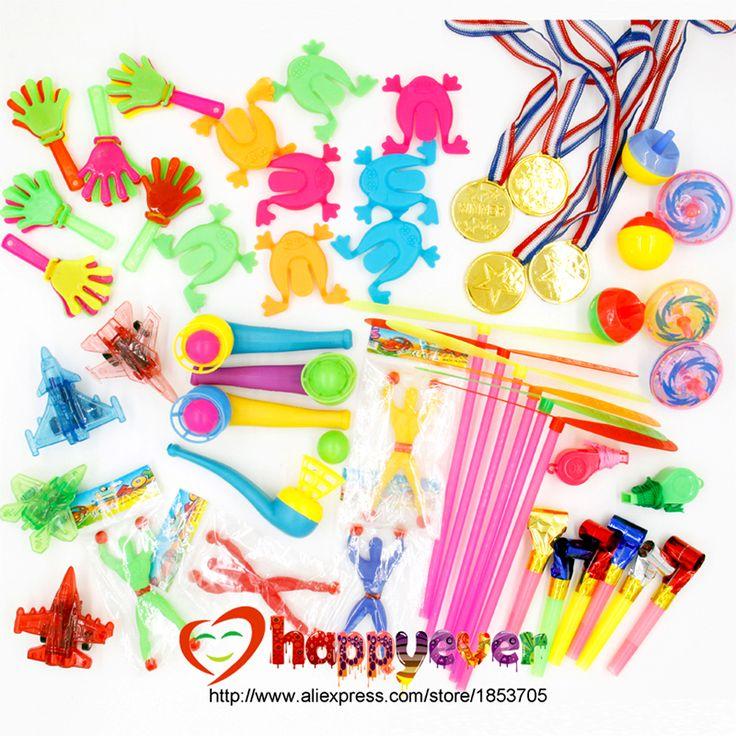 Купить товар2016 новый 50 шт. ну вечеринку выступает дети подарок на день рождения ну вечеринку игрушки пиньята наполнители сумки мешочек со сладостями шведский ну вечеринку техника школа награда в категории События и праздничные атрибутына AliExpress. 100PCS Toys for Kids Party Favors Supplies Girl Boy Birthday Gift Bags Pinata Fillers Children Carnival Prizes School Re