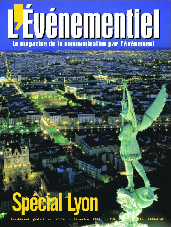L'ÉVÉNEMENTIEL n°114 (décembre 2002) : Supplément Spécial Lyon