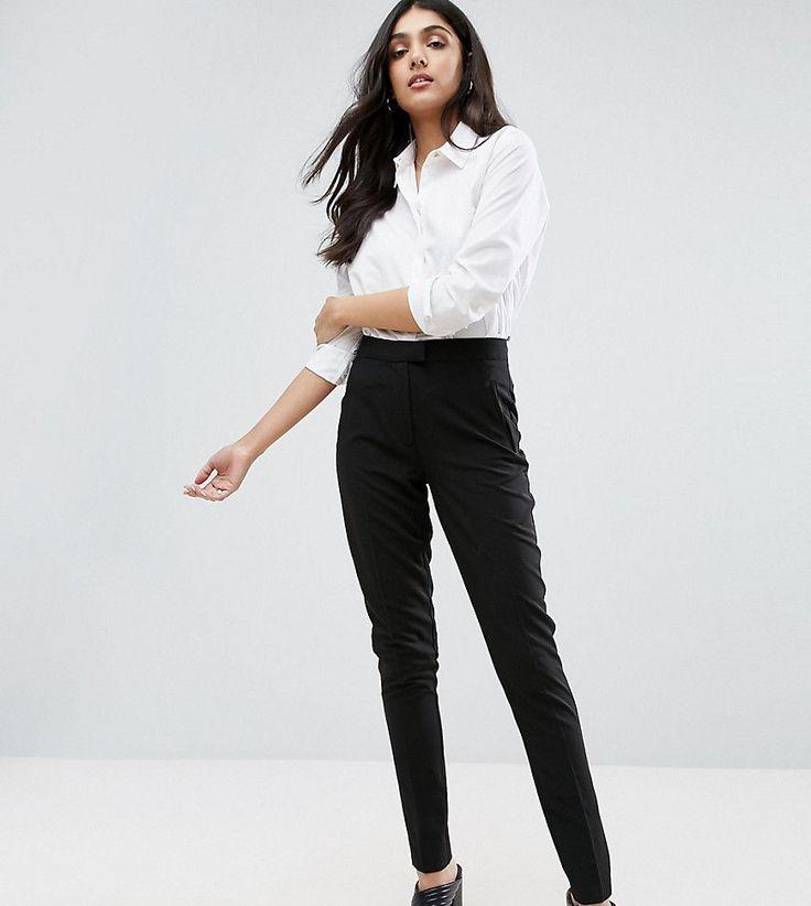 New Look Tall Cigarette Pants - Black