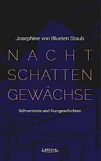Nachtschattengewachse Josephine Von Blueten Staub Kartoniert