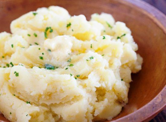 картошка пюре в мультиварке