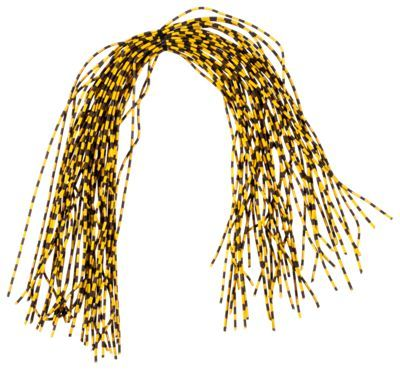 Montana Fly Company Round-Rubber Centipede Legs - Medium - Speckled Yellow