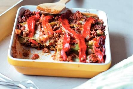 Pittige lasagne (AH LACTOSE VRIJE RECEPTEN)