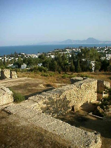 Ruins of Carthage: Located in Tunisia & date from the Pheonician & Punic periods of the C6th BC. Carthage was the base of a powerful trading empire that spanned the entire south Mediterranean. The citizens defended the city against the Republic of Rome in 146BC yet lost, & Punic Carthage was destroyed. The site was redeveloped by the Romans a century later & Carthage became the capital of the Roman province of Africa. Today the district is very affluent & is a UNESCO World Heritage List site