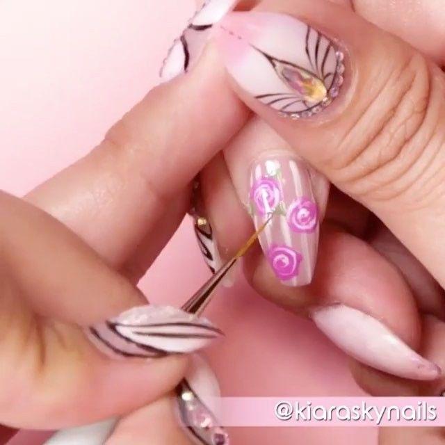 Mejores 12 imágenes de Pretty in Pink en Pinterest   Esmalte en gel ...