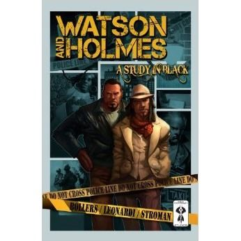 Collecting the entire first arc of Sir Arthur Conan Doyle's Sherlock Holmes and Dr John Watson re-envisioning as African Americans living in New York's famous Harlem district. Watson, an Afghanistan war vet, works in an inner-city clinic; Holmes, a local P.I. who takes unusual cases. When one of them ends up in Watson's emergency room, the duo strike up a partnership to find a missing girl. Watson & Holmes bump heads along the way as they enter a maze of drugs, guns, gangs and a conspiracy.
