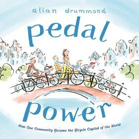 Pedal Power: How One Community Became the Bicycle Capital of the World (Farrar Straus Giroux Books for Young Readers, an imprint of Macmillan Publishing Group, LLC, March 28, 2017) written and illustrated by Allan Drummond salutes the significance of one.  One person can make a difference.  If one person connects with other like-minded people, change can and will happen.