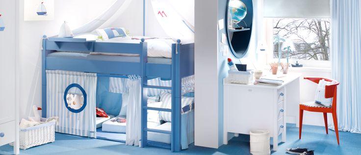 Kinderzimmeridee, typisches Jungenzimmer