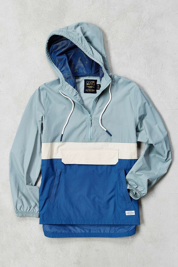 CPO Citywide Colorblock Anorak - Urban Outfitters Women, Men and Kids Outfit Ideas on our website at 7ootd.com #ootd #7ootd