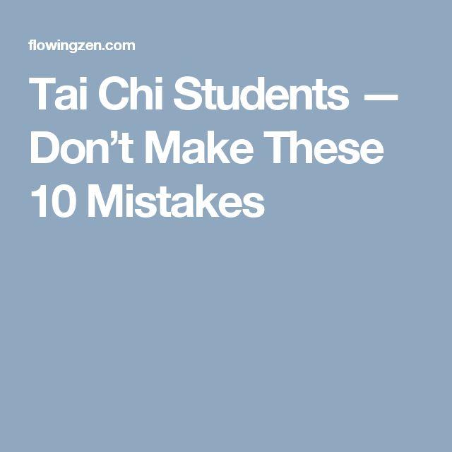Best 25+ Tai Chi Ideas On Pinterest