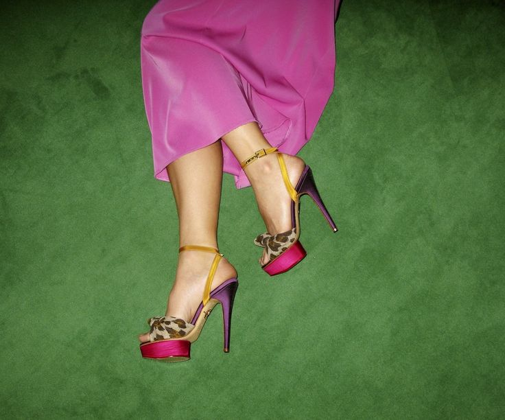 Margo Stilley for Charlotte Olympia by Kate Bellm