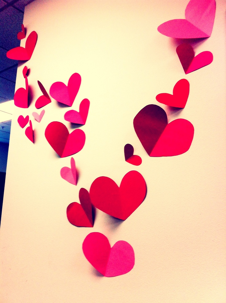 Valentines Decorations To Brighten Any Office... Valentine PartyValentine  IdeasValentines Day ...