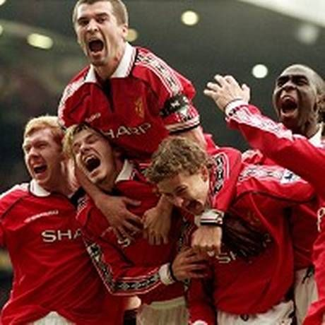1999: Manchester United won the treble!
