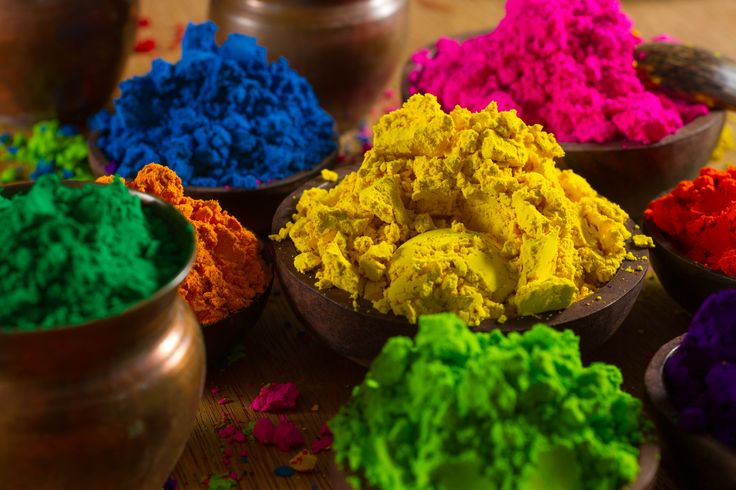 Celebrate Holi with a Colorful Powder Recipe