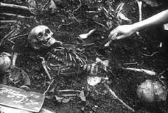 The El Mozote Massacre took place in and around the village of El Mozote, in Morazán department, El Salvador, on December 11, 1981, when the Salvadorean Army killed more than 800 civilians in an anti-guerrilla campaign during the Salvadoran Civil War.