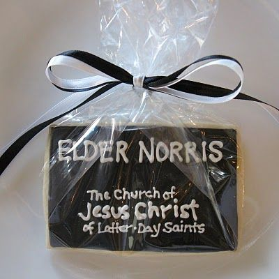 Missionary Tag Cookies