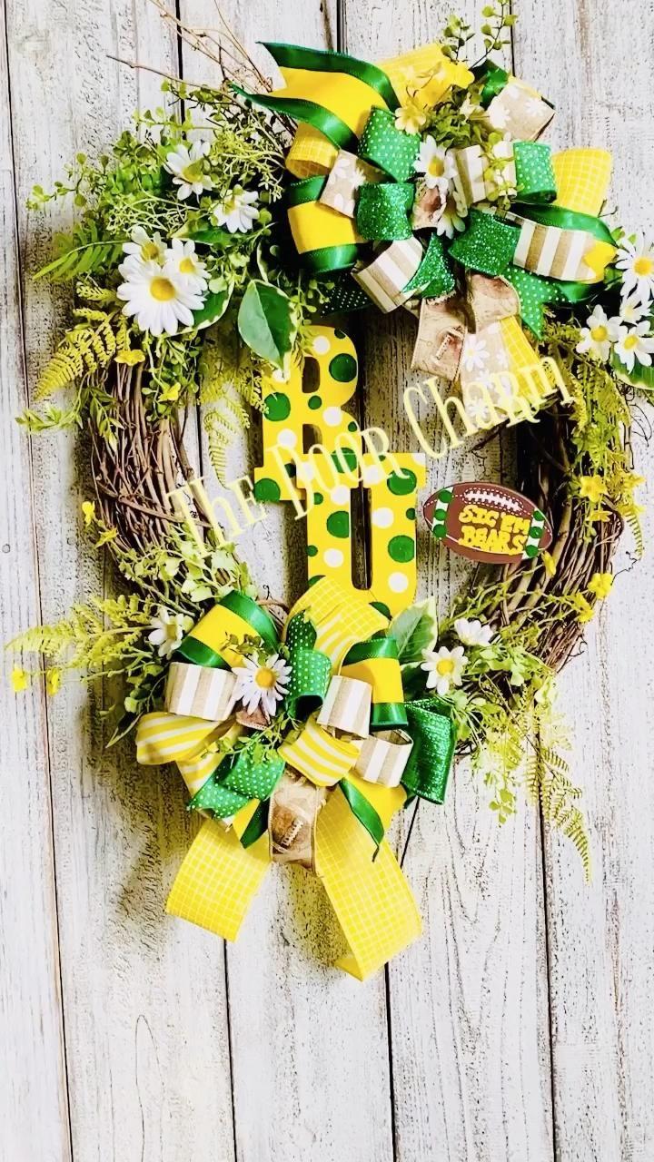 Baylor Wreath, Sic Em Bears, Baylor Bears [Video] in 2020