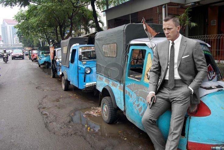 Bond lagi pusing, penumpang sepi.