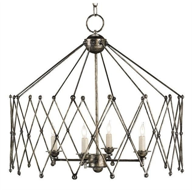 Currey and Company Accordion Chandelier 9998